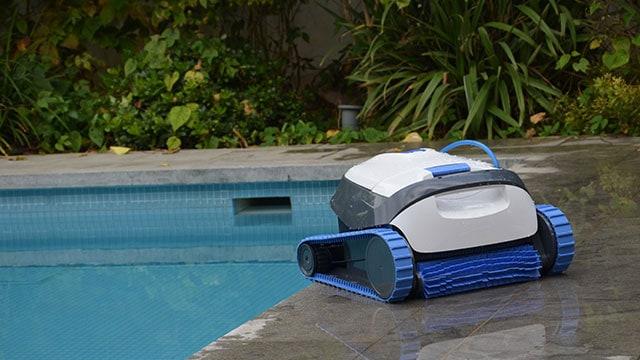 Croissant Robot de Piscine Dolphin S100 | Nettoyage Autonome WJ-96