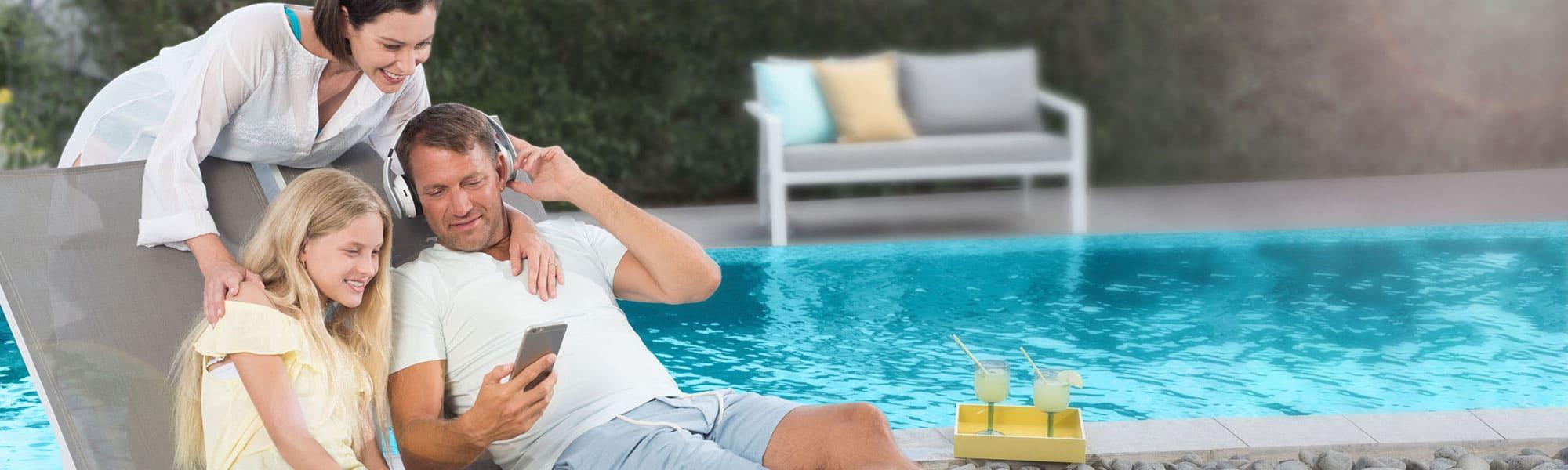 robot piscine fond et parois confort de nettoyage