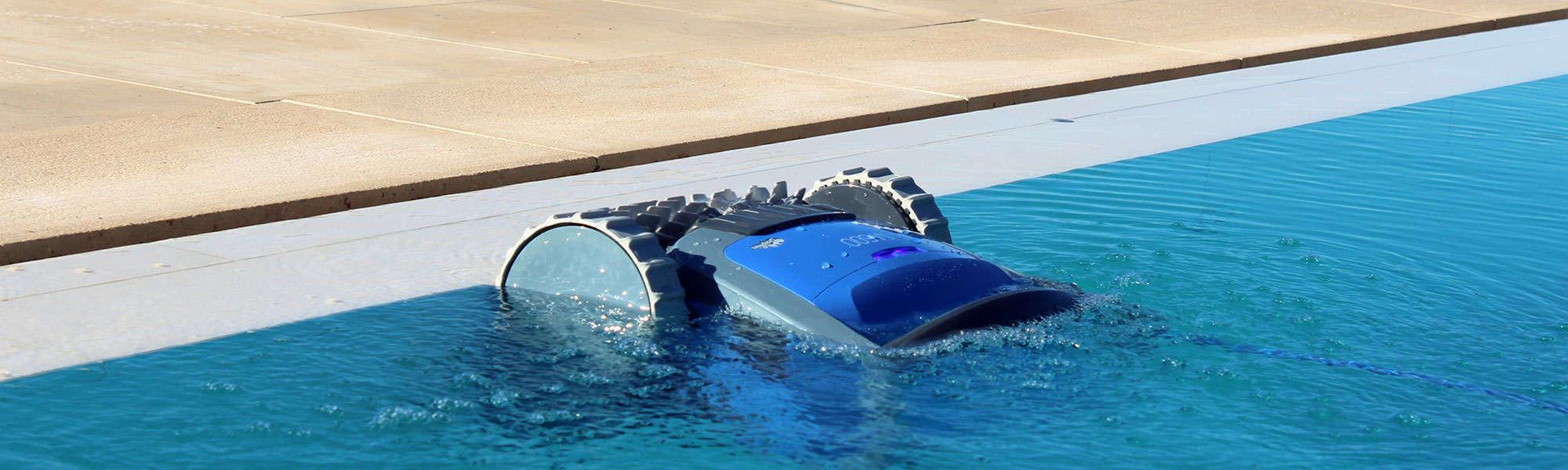 robot piscine fond et parois