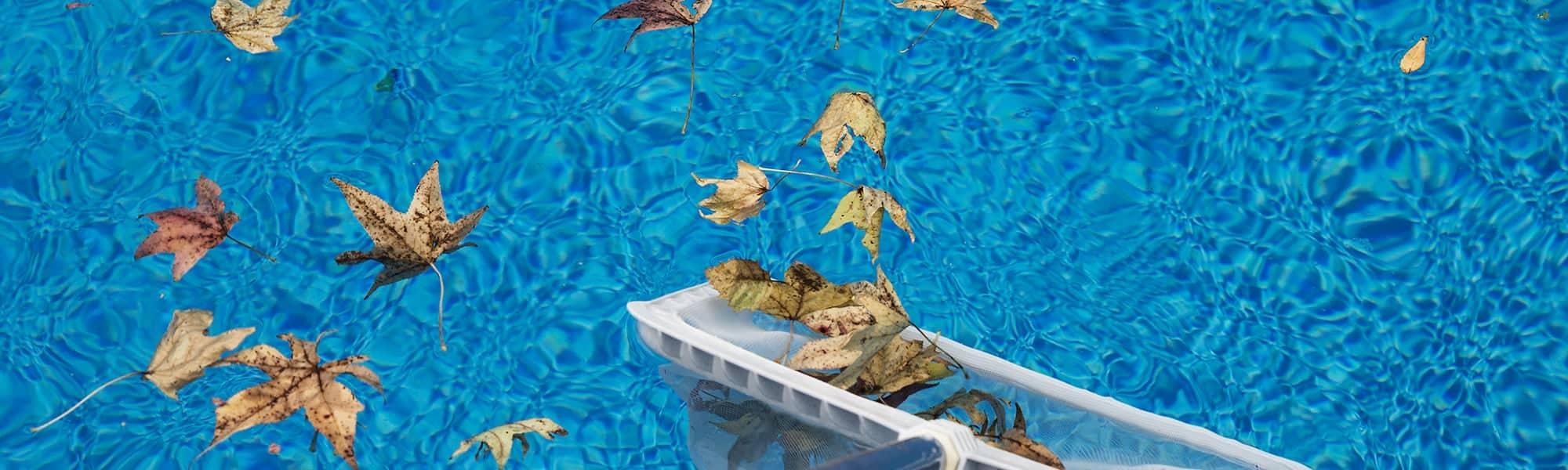 Nettoyer la surface de sa piscine