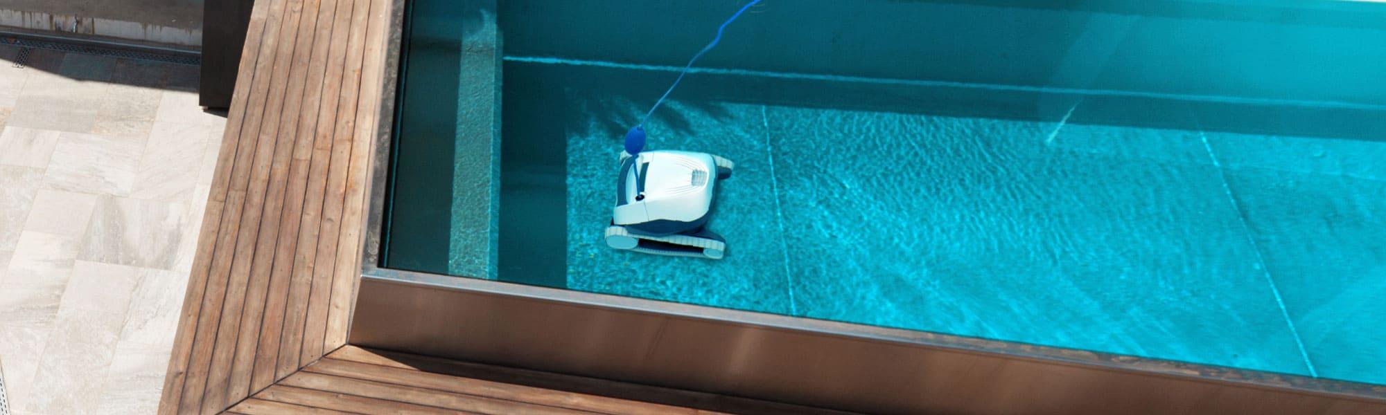 robot nettoyeur piscine hors-sol